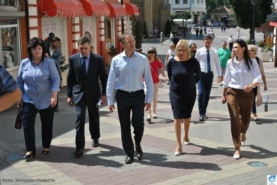 Министр культуры Российской Федерации Владимир Мединский посетил Кисловодск