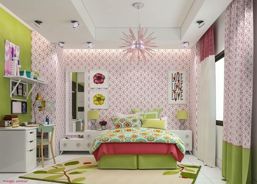 Как обустроить комнату для девочки-подростка