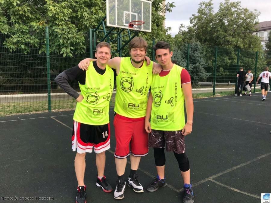 Кисловодские спортсмены приняли участие в соревнованиях по стритболу в столице СКФО